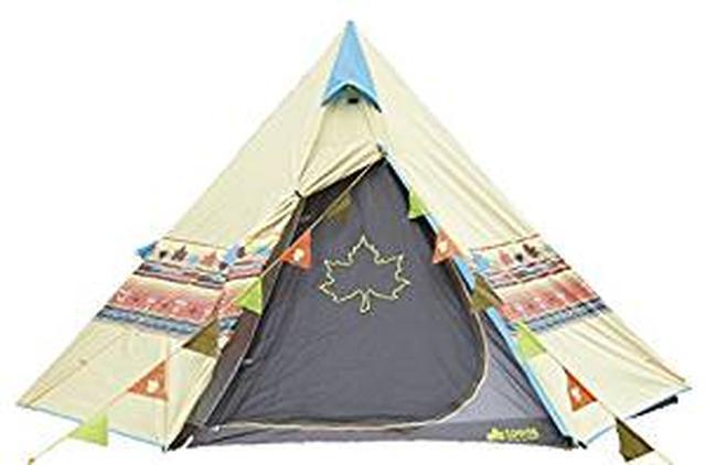 画像: Amazon | ロゴス(LOGOS) Tepee ナバホ300セット 71809511 | ロゴス(LOGOS) | テント本体