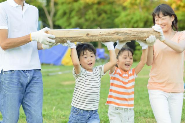 画像: キャンプは体験の宝庫! 子どもを中心にみんなで楽しもう