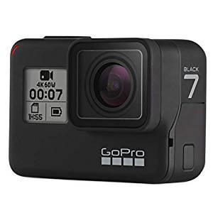 画像: Amazon   【国内正規品】GoPro HERO7 Black CHDHX-701-FW ゴープロ ヒーロー7 ブラック ウェアラブル アクション カメラ 【GoPro公式】   ウェアラブルカメラ・アクションカム 通販
