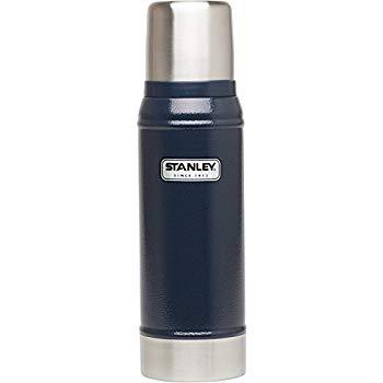 画像: Amazon.co.jp: STANLEY(スタンレー) クラシック真空ボトル 0.75L ネイビー 水筒 01612-006 (日本正規品): スポーツ&アウトドア