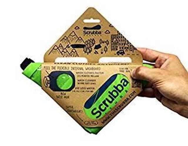画像: Amazon   旅行用洗濯袋 Scrubba Washbag スクラバ ウォッシュバッグ 便利トラベルグッズ キャンプ 携帯用洗濯袋 (ウォッシュバッグ, 緑) (緑, ウォッシュバッグ) (緑)   Scrubba   スポーツ&アウトドア