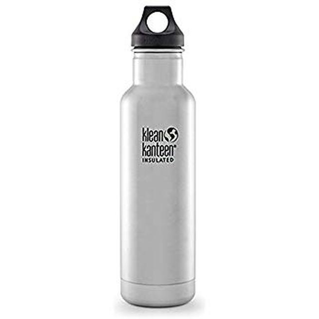 画像: Amazon.co.jp: Klean Kanteen(クリーンカンティーン) インスレートクラシックボトル 20oz 592ml 19322016015020 ステンレス: スポーツ&アウトドア