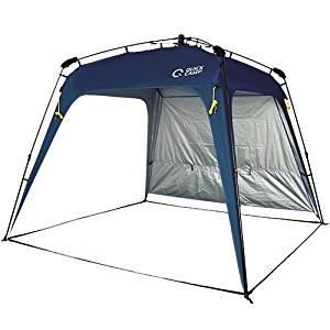 画像: Amazon | クイックキャンプ ワンタッチタープ 2.5m フラップ付き ネイビー QC-TP250 | クイックキャンプ | スポーツ&アウトドア