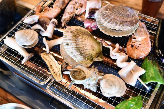 画像: 海鮮系の食材は傷みやすい! バーベキューに持っていくときはクーラボックスを必ず用意