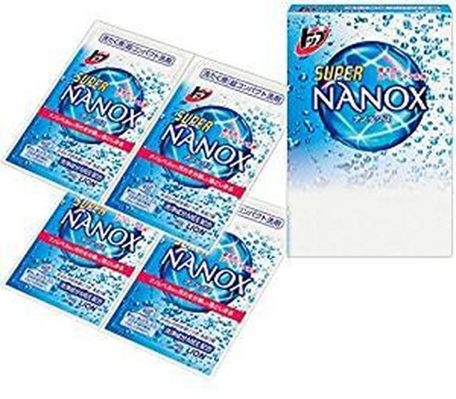 画像: Amazon.co.jp: メトリックス 旅行用 携帯 洗濯 液体 洗剤 ナノックス NANOX ワンパック (4回分): ホーム&キッチン