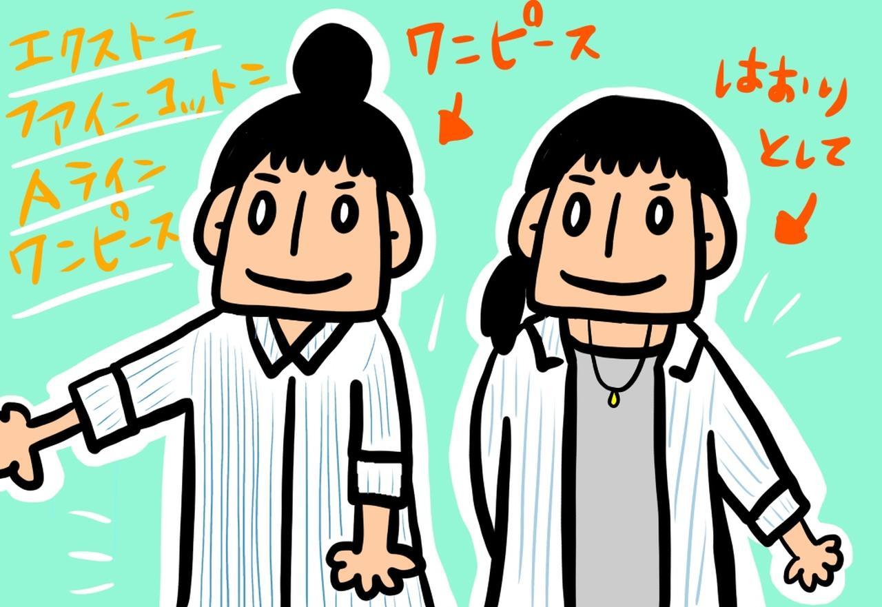画像: 2.UNIQLOエクストラファインコットンAラインワンピース(七分袖)