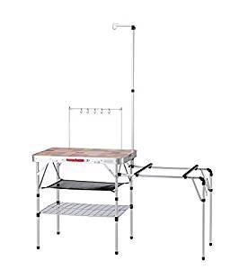 画像: Amazon | コールマン(Coleman) テーブル オールインワンキッチンテーブル 2000031294 | コールマン(Coleman) | テーブル