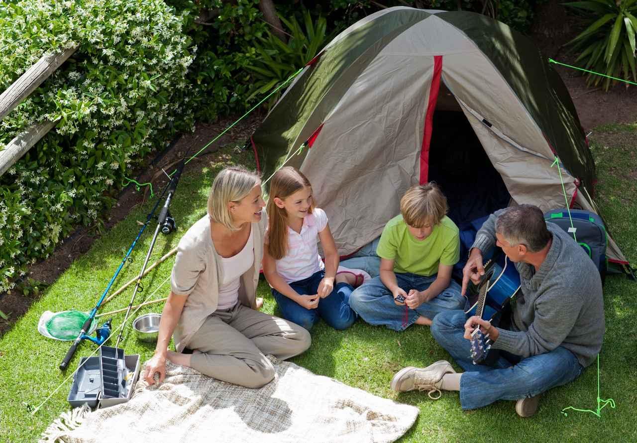 画像: 準備・移動いらずの家キャンプ! 赤ちゃん・子供も楽しめる! 自宅を使ってアウトドア気分を楽しもう