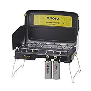 画像: Amazon.co.jp: ソト(SOTO) ハイパワー2バーナー ST-525: スポーツ&アウトドア