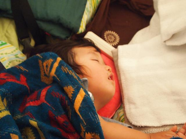 画像: 次男1歳:大野路キャンプ場にて 撮影は10月