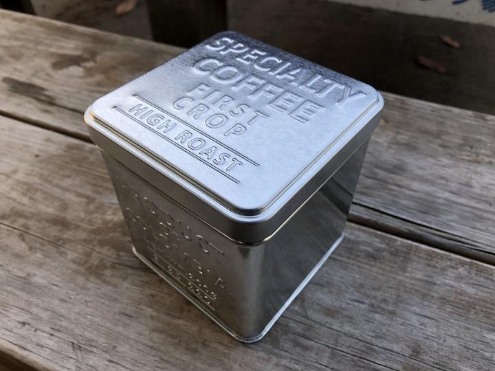 画像: 筆者撮影・コーヒー保存缶