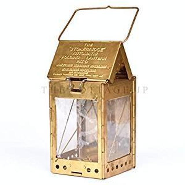 画像: Amazon | キャンバスケース付 The stonebridge automatic folding candle lantern (ストーンブリッジ オートマチック フォールディング キャンドル ランタン)【正規輸入品】 | The stonebridge lantern | ランタン