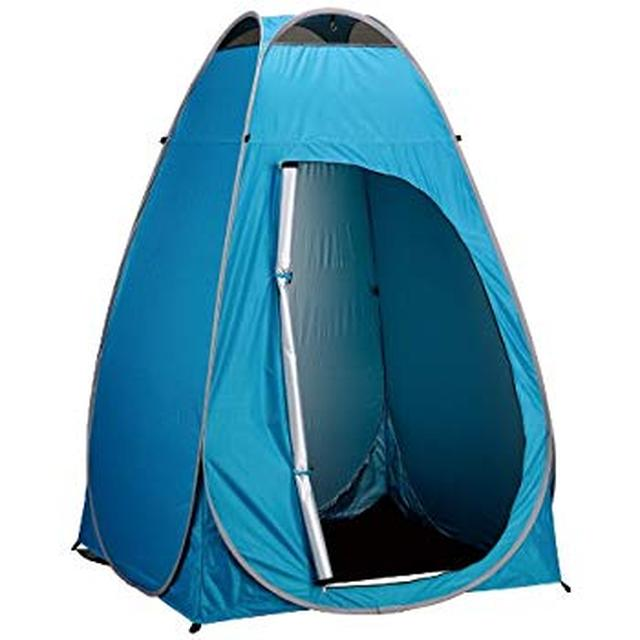 画像: Amazon | BUNDOK(バンドック) プライベート テント UV NT-51UV 着替え 防災 トイレ キャンプ | BUNDOK(バンドック) | テント本体
