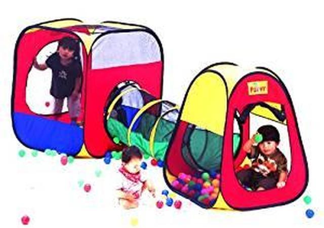 画像: Amazon | ボールハウステントセット | 屋内遊具 | おもちゃ