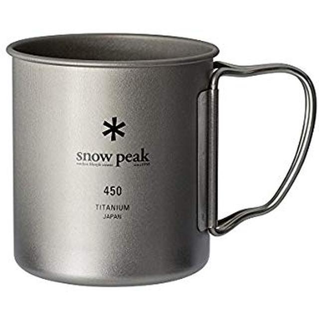 画像: Amazon | スノーピーク(snow peak) チタン シングルマグ 450 [容量450ml] MG-143 | スノーピーク(snow peak) | マグ・シェラカップ
