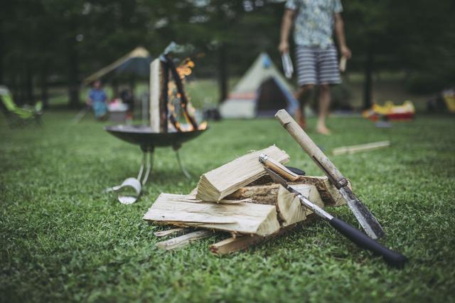 画像: (5)火を大きく育てる