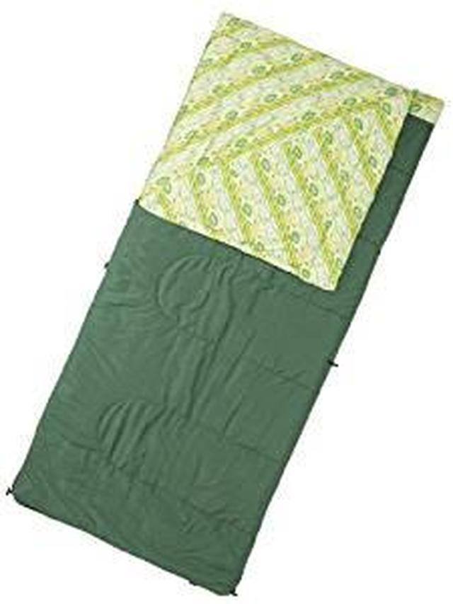 画像: Amazon | コールマン 寝袋 コージースリーピングバッグ/C10 [使用可能温度5度] グリーン 2000016927 | コールマン(Coleman) | 寝袋・シュラフ