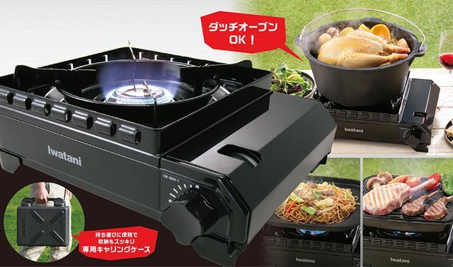 画像1: メーカー公式サイトより www.iwatani-i-collect.com