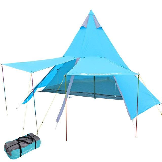 画像: ファミリーキャンプに! DOD(ドッペルギャンガー)の人気大型テント4選 - ハピキャン(HAPPY CAMPER)