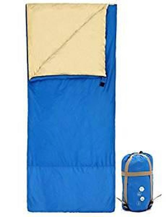 画像: Amazon | 寝袋 シュラフ 封筒型 キャンプシュラフ アウトドア キャンプ 登山 車中泊 丸洗い 収納袋付き【最低使用温度10℃】 | Ohuhu | 寝袋・シュラフ
