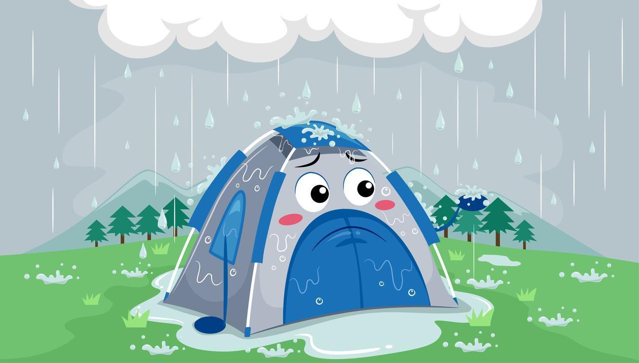 画像: 【経験者が伝授】雨の日ならではのファミリーキャンプの楽しみ方 - ハピキャン(HAPPY CAMPER)