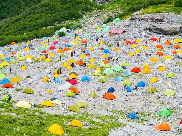 画像: 登山用テントは軽いけど、居住性はいまいち