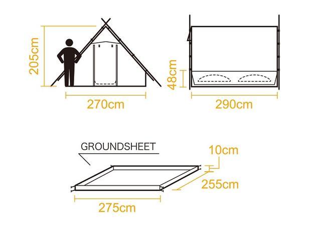 画像2: 画像出典:tent-Mark Designs www.tent-mark.com