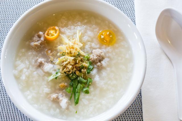 画像: 123rf タイの簡単朝食『ジョーク』イメージ