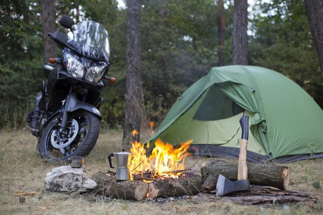 画像: ツーリングに適したテントを積んで冒険に出掛けよう!