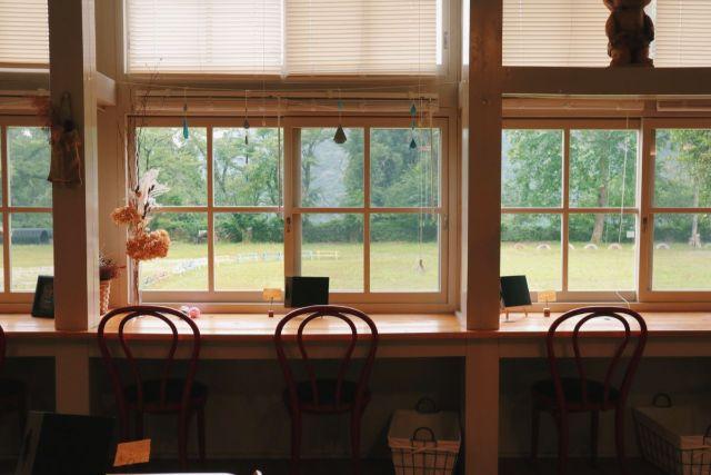 画像: 編集部撮影・筆者お気に入りの窓際の席