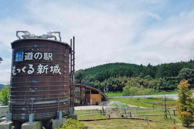 画像: 編集部撮影・道の駅もっくる新城