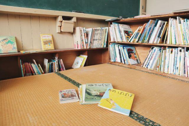 画像: 編集部撮影・絵本が読める畳スペース