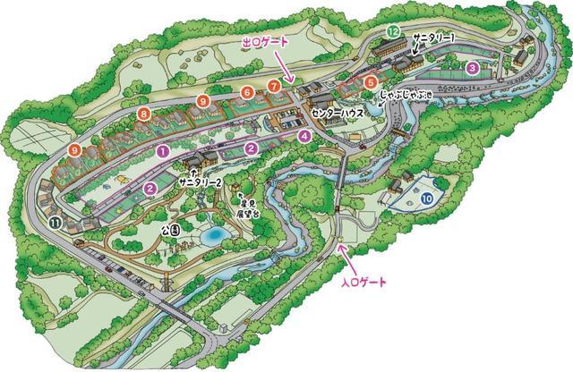 画像: 施設紹介 | 青川峡キャンピングパーク