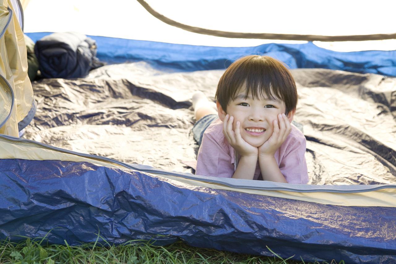 画像: タープやコット、ミニ扇風機で寝苦しさ解消! 夏キャンプは涼しく過ごそう