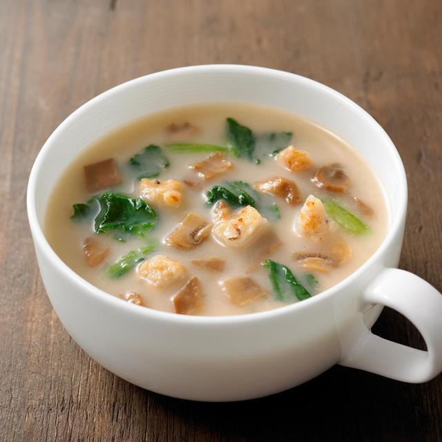 画像: 【ネット限定】【まとめ買い】 食べるスープ きのことチキンのポルチーニポタージュ12セット・3食 通販 | 無印良品