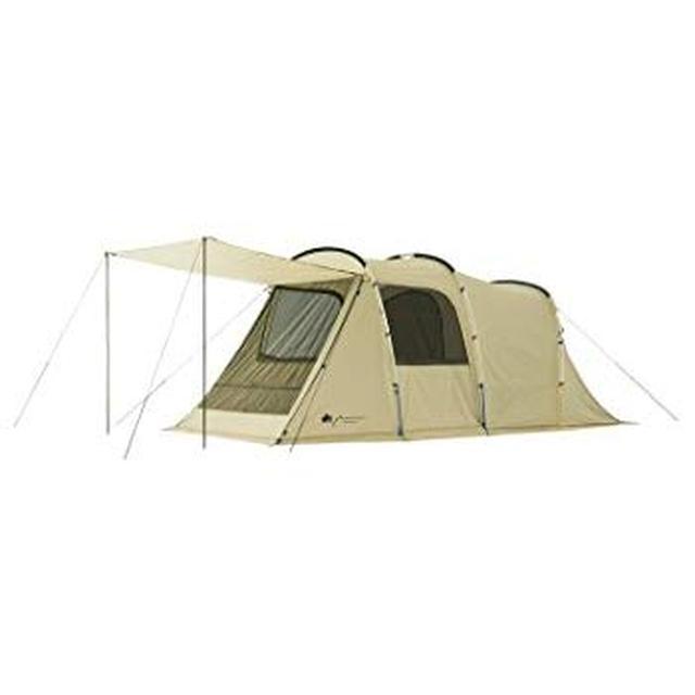 画像: Amazon   [ロゴス] LOGOS キャンプ ツールーム テント グランベーシック トンネルドーム XL-AG ホワイト 71805023   LOGOS(ロゴス)   テント本体