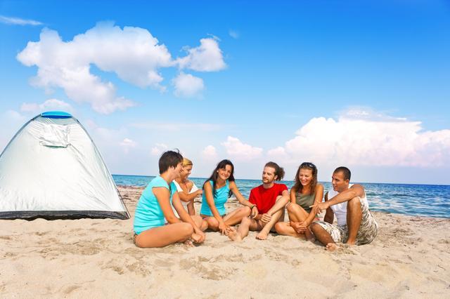 画像: 東海エリアにある海辺のキャンプ場の特徴