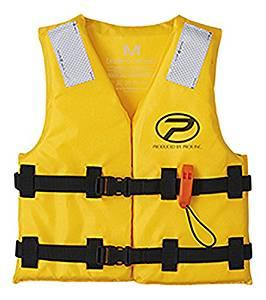 画像: Amazon | プロックス 小型船舶用救命胴衣(型式認定) 子供用 Sサイズ TK13B2S イエロー | プロックス | ライフジャケット・フローティングベスト