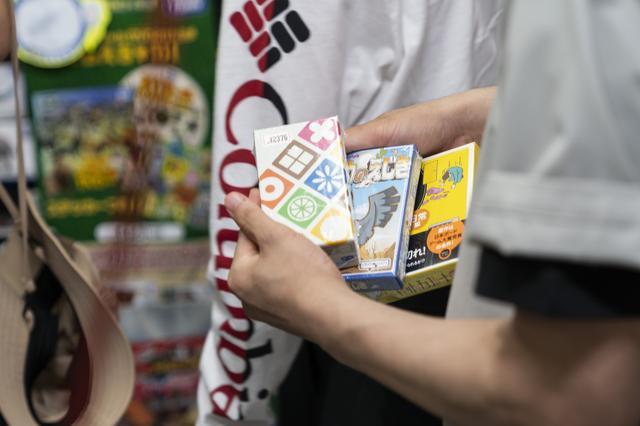 画像2: 「ハゲタカのえじき」「ナインタイル」など、グランピングで遊ぶ用のカードゲームを調達!