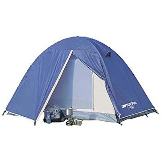 画像: Amazon | キャプテンスタッグ(CAPTAIN STAG) テント リベロ ツーリングテントUV M-3119 ドーム型 2人用 防水 バイク・自転車積載 軽量・コンパクト設計 バッグ付き | キャプテンスタッグ(CAPTAIN STAG) | テント本体