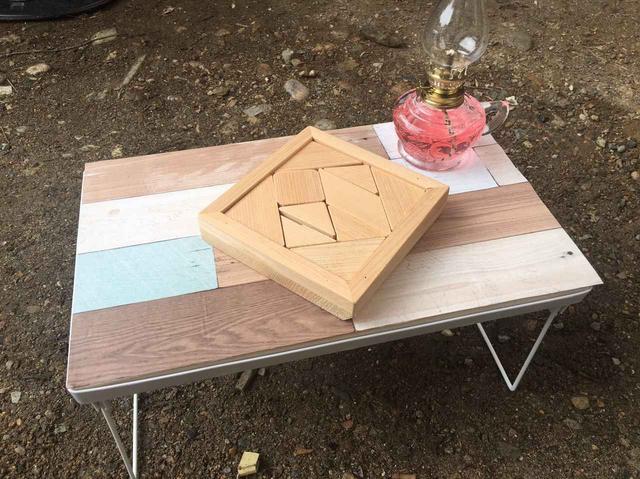 画像: 【キャンプDIY】100均ダイソーのアイテムで「ミニテーブル」を自作しました! - ハピキャン(HAPPY CAMPER)