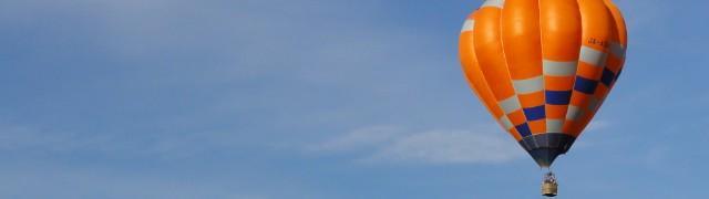 画像: 早朝熱気球体験