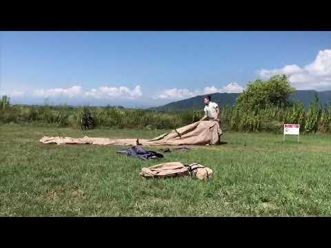 画像: 【試し張り】【チーカマスタイル】カマボコテントミニ&チーズタープ www.youtube.com
