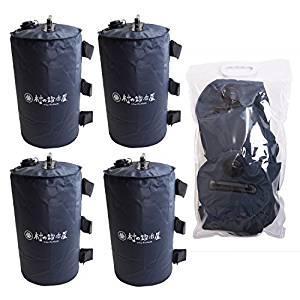 画像: Amazon   エリッゼ(ELLISSE) マルチウェイト(ウェイトバッグ)10L 4個セット バンドテープ付 持ち運びに便利なバッグ付 ワンタッチタープの重しに最適!   エリッゼ(ELLISSE)   テントアクセサリー