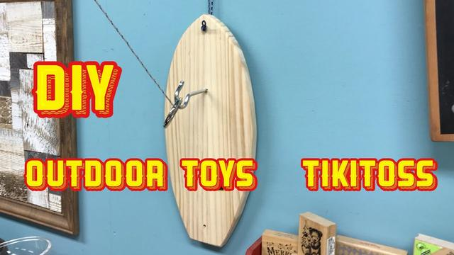 画像: 【DIY】絶対流行るスポーツ玩具・tikitoss www.youtube.com