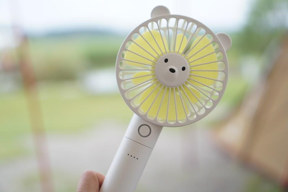 画像: 【実際に使ってみた】夏キャンプを快適に過ごすための携帯扇風機おすすめ3選 - ハピキャン(HAPPY CAMPER)