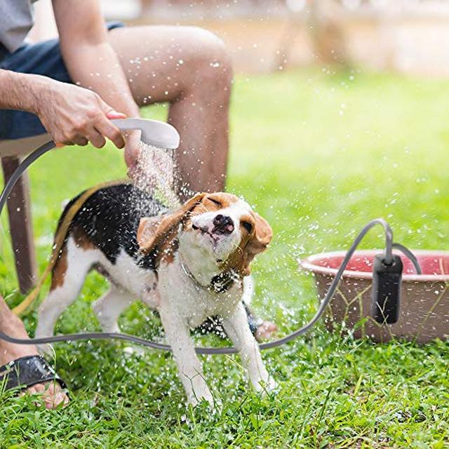 画像3: キャンプ場に風呂がなくても大丈夫 携帯シャワーやベビーパウダーなど代用グッズ紹介