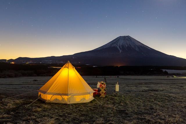 画像: デメリット:テントの隅は低いので選び方に注意&自立はしない