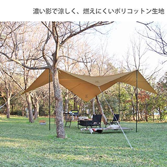 画像4: 【動画で解説】DODのカマボコテントレビュー チーカマスタイルでキャンプを快適に
