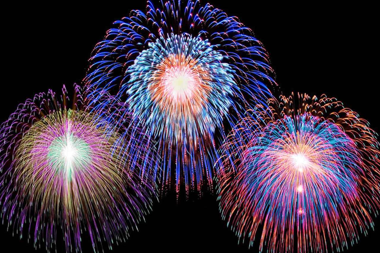 画像: 9月に入っても花火大会を楽しめますよ!